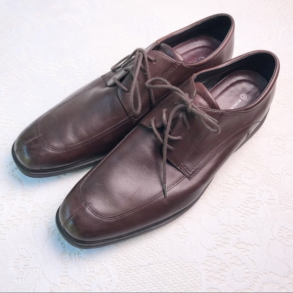 Rockport Other - Rockport Brown Leather Oxfords Dress Shoes Sz 14